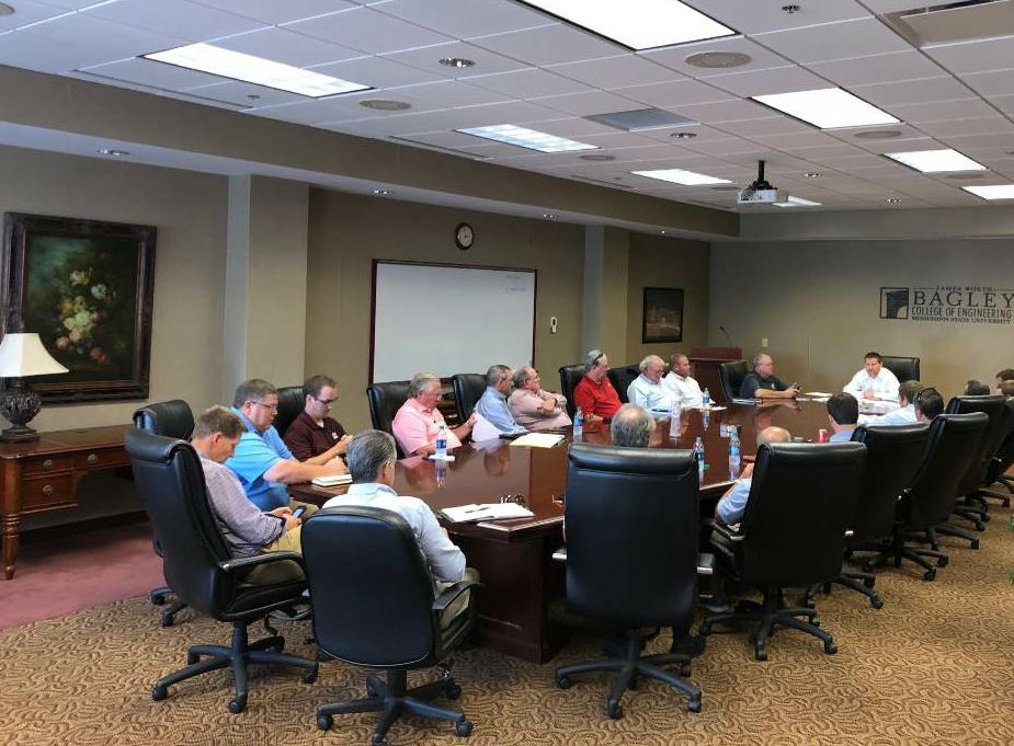 Dr. Isaac Howard, PE, hosts the Construction Materials Research Center board of directors at Mississippi State University. The Mississippi Asphalt Pavement Association works hand-in-hand with Dr. Howard and his team to promote workforce development for the greater construction industry.