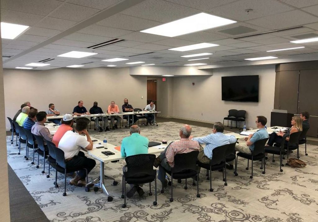 The MDOT/MAPA joint technical committee meets regularly to find solutions to issues that may arise from asphalt construction work done on Mississippi's roadways.