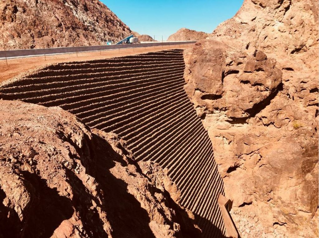 Since the I-11 project passed through a national park, the agencies and contractors had to work with the National Park Service to ensure the project didn't detract from the natural environment.