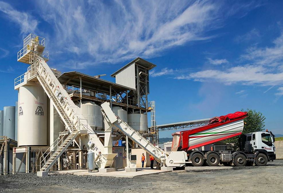 Astec Mobile Screens' ProSizer® 3600 plant