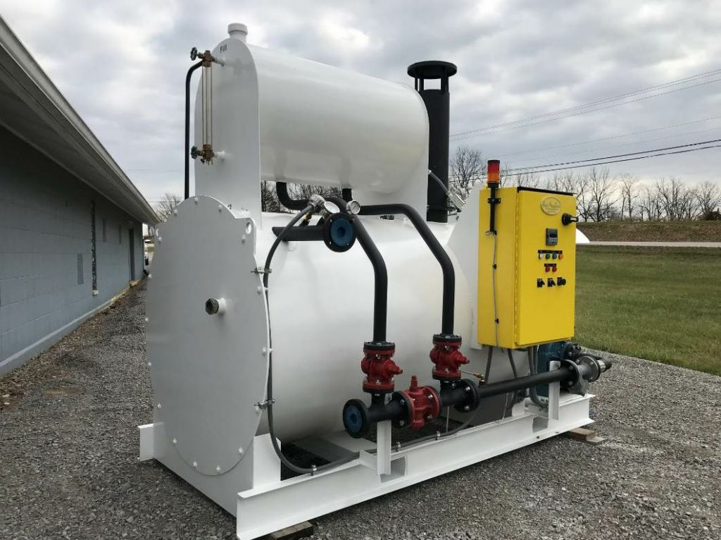 Stop by booth 13127 to see the Burke hot oil heater from Reliable Asphalt Products.