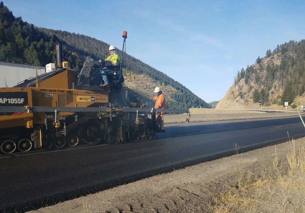 Warren estimates that 80 to 90 percent of Schellinger Construction's jobs are for the Montana Department of Transportation.