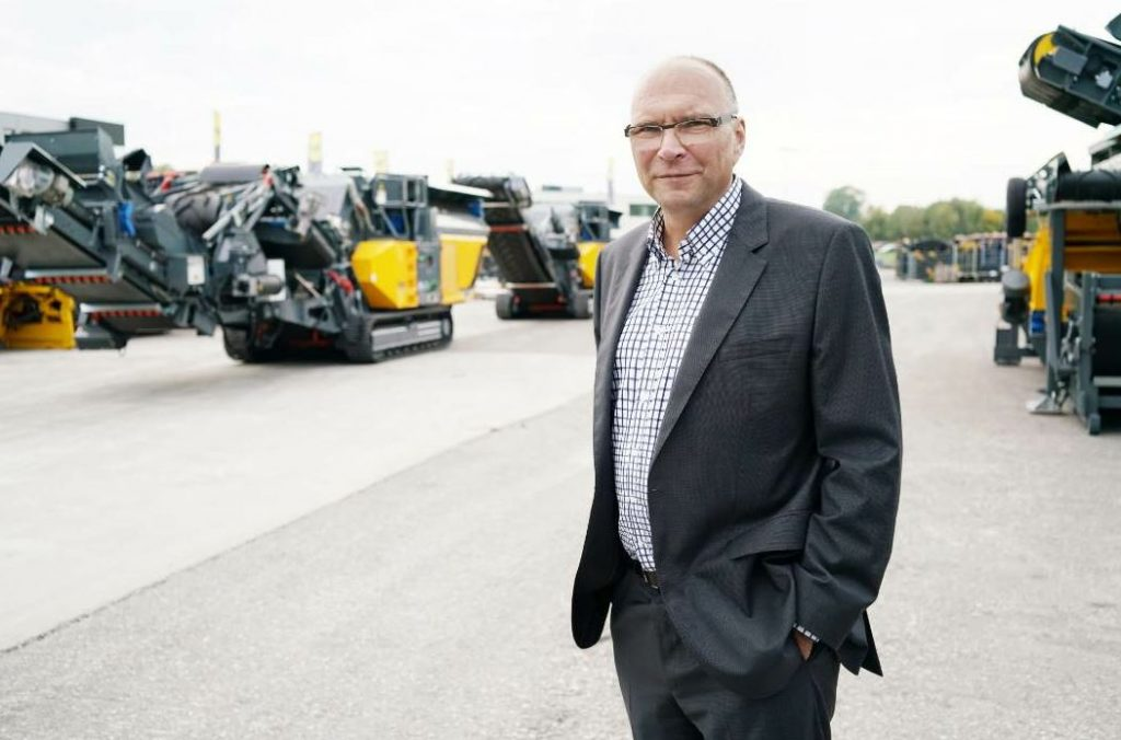 Gerald Hanisch, Founder and Owner of Rubble Master