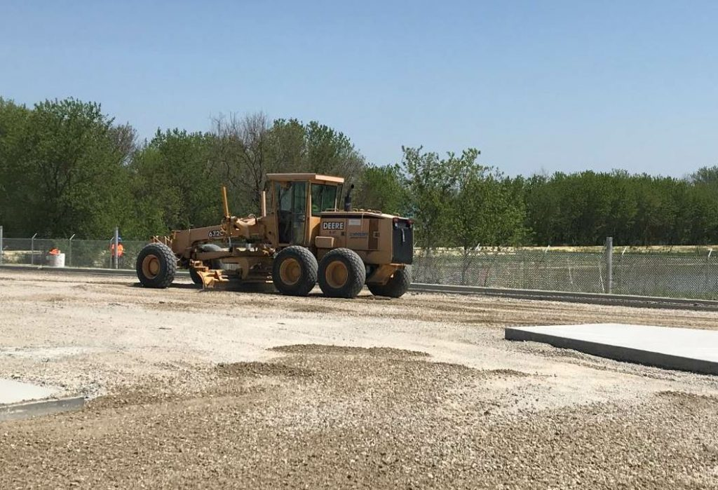 Schroeder's managing partner loves all aspects of the asphalt industry. For him, it's rewarding to start with a bare field of dirt and turn it into a smooth asphalt lot people can use.