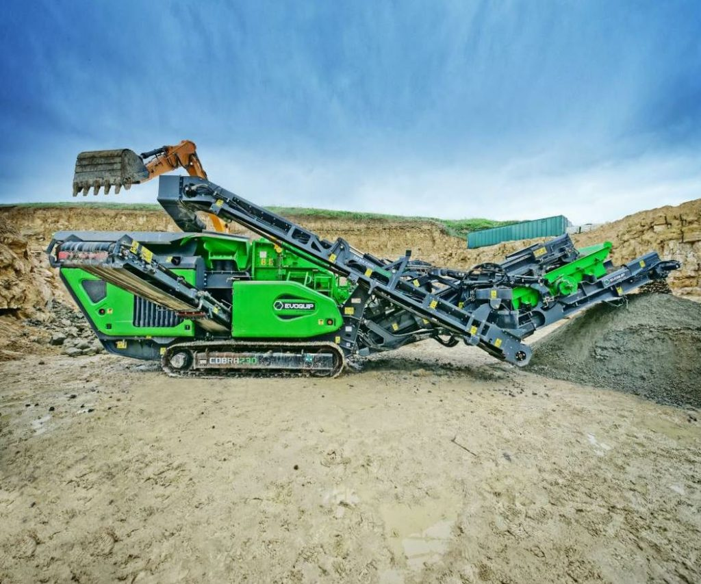EvoQuip offers closed circuit impactors, the Cobra 230R (pictured) and Cobra 290R, which are combination crushing and screening plants. These machines can be used to achieve up to two products, according to the manufacturer. Photo courtesy EvoQuip.