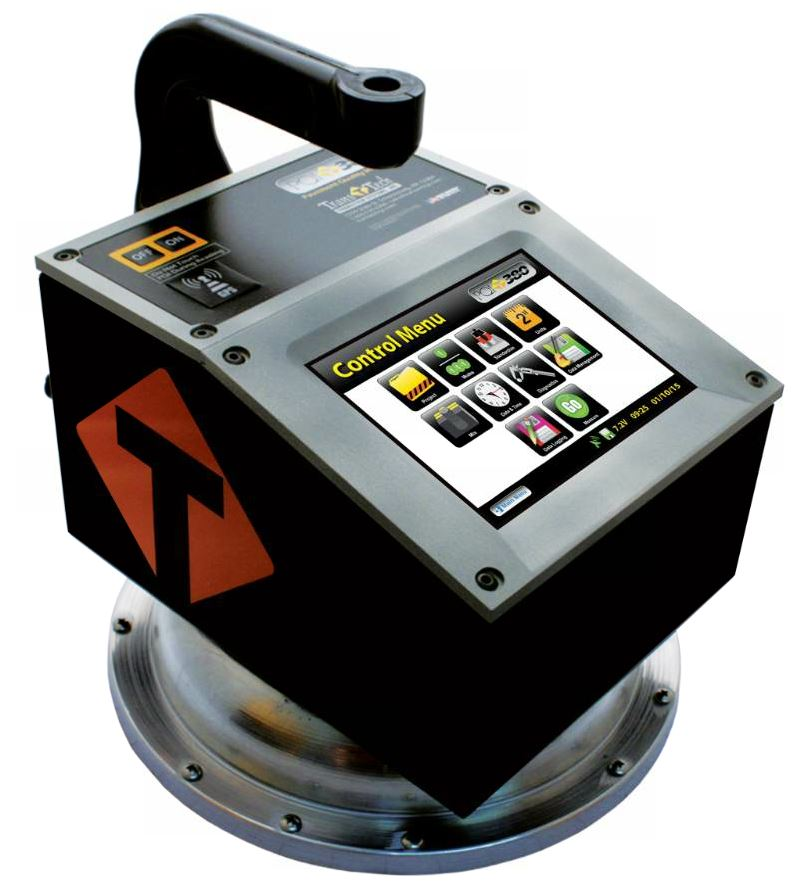 The original non-nuclear asphalt density gauge, the PQI 380, is designed to provide fast, accurate density readings of the asphalt mat.