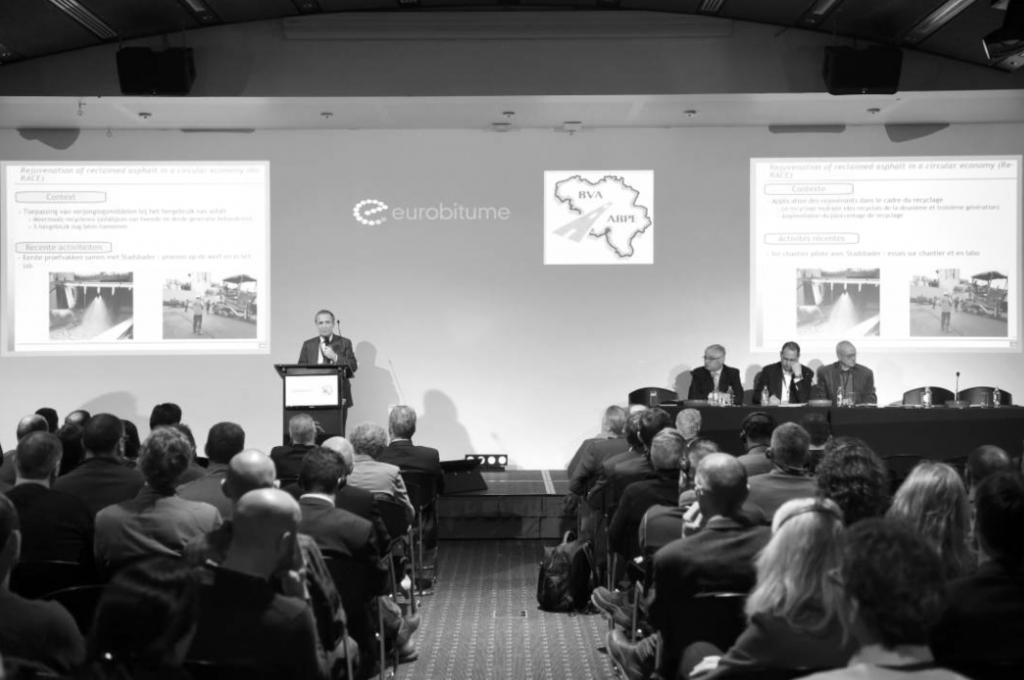 The Asphalt & Bitumen Day 2018 was themed 'Roads to the future' and took place in Brussels, Belgium, March 21, 2018.
