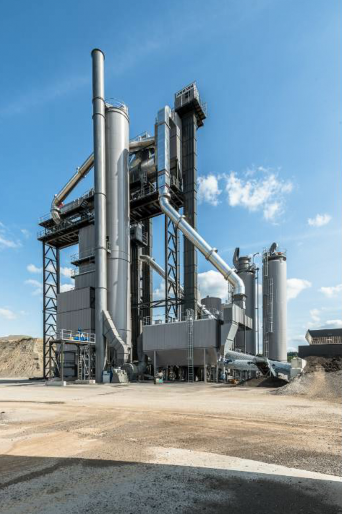 The ABP high recycling technology (HRT) plant from Ammann Group