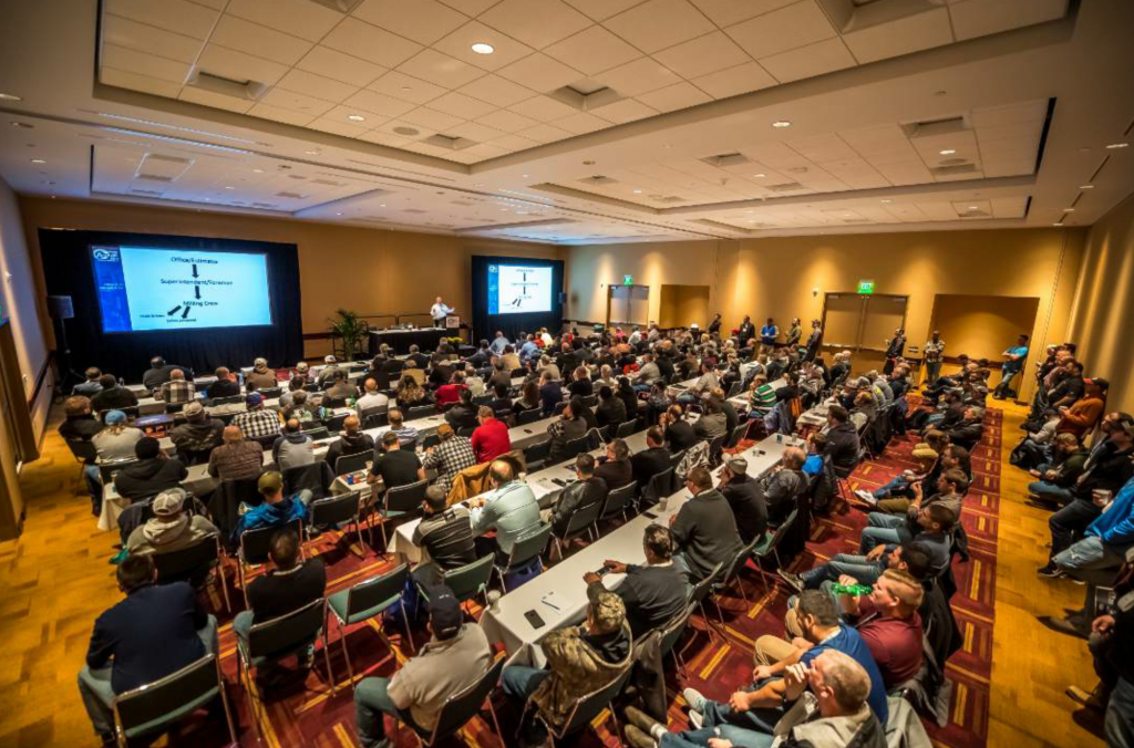 The shows offered more than 150 learning opportunities, anchored by the AGG1 Academy from the National Stone, Sand and Gravel Association (NSSGA) and the People, Plants and Paving Conference from NAPA. Photo courtesy AEM.