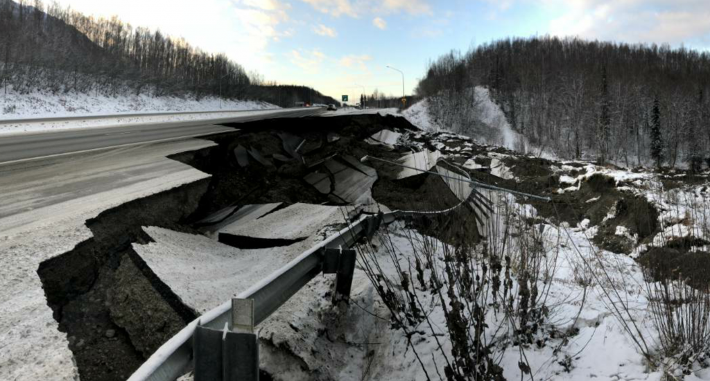 The Federal Highway Administration quickly released $5 million to the Alaska DOT to immediately begin to perform the repairs. In total the FHWA released $25 million.